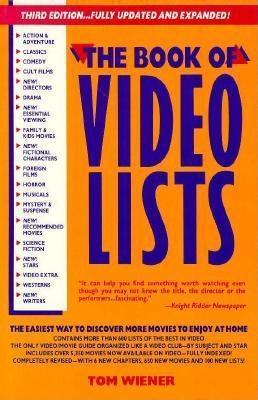 Book of Video Lists 1991  by  Tom Weiner