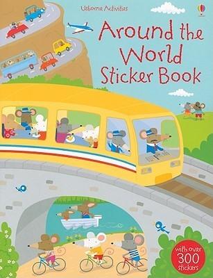 Around the World Sticker Book Stella Baggott