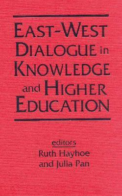 East-West Dialogue in Knowledge and: Higher Education Ruth Hayhoe