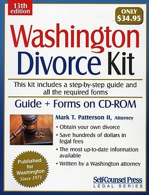 Washington Divorce Kit [With CDROM]  by  Mark T. Patterson