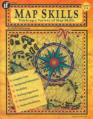 Map Skills, Grades 3 To 4  by  School Specialty Publishing