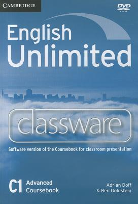 English Unlimited Advanced Classware DVD-ROM  by  Adrian Doff