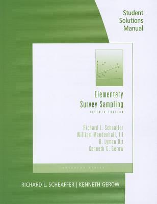 Text-Specific CD-ROM for Scheaffer/Mendenhall/Otts Elementary Survey Sampling, 6th  by  Richard L. Scheaffer