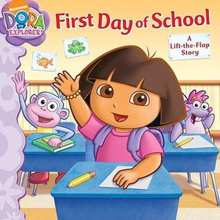 First Day of School: A Lift-the-Flap Story  by  Jorge Aguirre