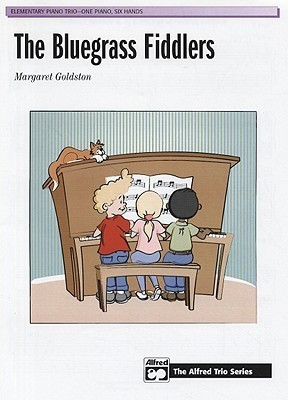 The Bluegrass Fiddlers: Elementary Piano Trio-One Piano, Six Hands  by  Margaret Goldston