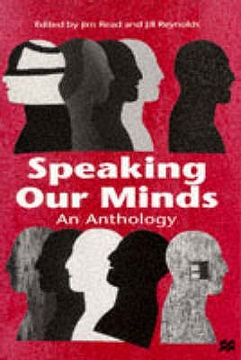 Speaking Our Minds: An Anthology  by  Jim Read