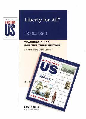 Liberty for All? 1820-1860  by  Joy Hakim