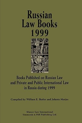 Russian Law Books 1999 William E. Butler