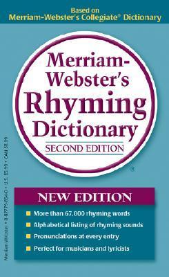 Merriam-Websters Rhyming Dictionary Merriam-Webster