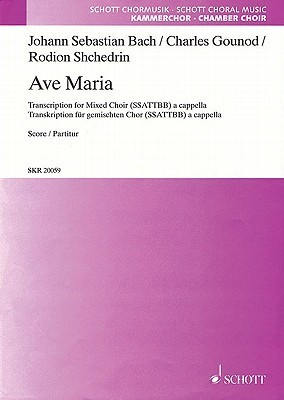 Ave Maria: Ssattbb A Cappella  by  Johann Sebastian Bach