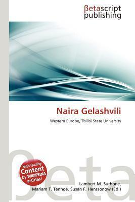 Naira Gelashvili  by  NOT A BOOK