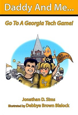 Daddy And Me Go To A Georgia Tech Game  by  Jonathan Sims