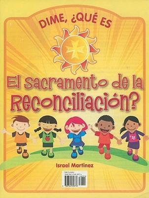El Sacremento de la Reconciliacion? Israel Martinez