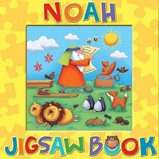 Noah Jigsaw Book  by  Candle Books