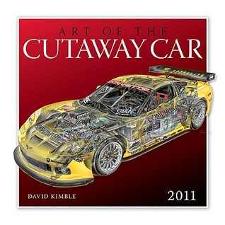 Art of the Cutaway Car 2011  by  David Kimble