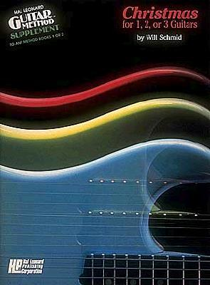 Christmas for 1, 2 or 3 Guitars  by  W. Schmid