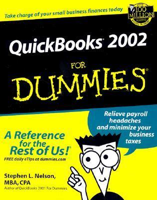 QuickBooks 2002 for Dummies.  by  Stephen L. Nelson