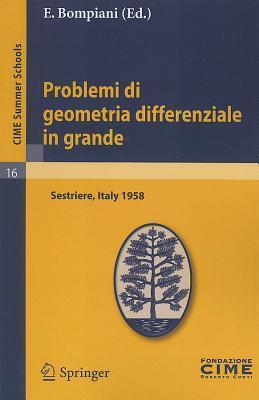Problemi Di Geometria Differenziale In Grande: Lectures Given At The Centro Internazionale Matematico Estivo (C.I.M.E.), Held In Sestriere (Torino), Italy, July 31-August 8, 1958  by  E. Bompiani