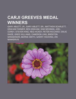 Carji Greeves Medal Winners: Gary Ablett, JR., Gary Ablett, Sr., Matthew Scarlett, Graham Farmer, Ben Graham, Sam Newman, Joel Corey  by  Source Wikipedia