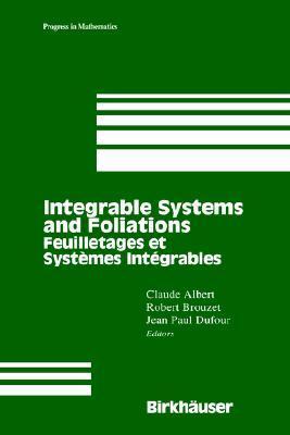 Feuilletages Et Systemes Integrables Claude Albert
