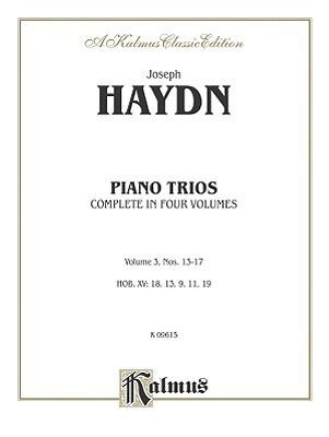 Trios for Violin, Cello and Piano, Vol 3: Nos. 13-17 Joseph Haydn