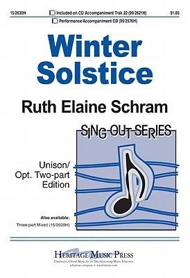Winter Solstice  by  Ruth Elaine Schram