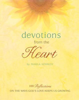 Devotions from the Heart: 100 Reflections on the Ways Gods Love Keeps Us Growing [With Journal]  by  Pamela Kennedy