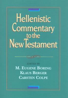 Hellenistic Commentary to the New Testament  by  M. Eugene Boring