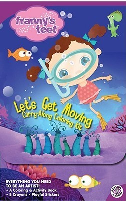 Lets Get Moving Carry-Along Coloring Kit Shirley Stern