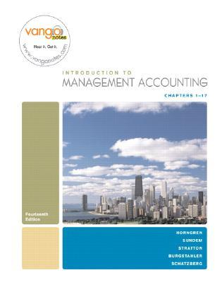 Cost Accounting  by  Charles T. Horngren