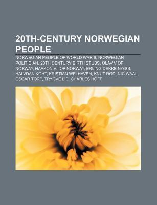 20th-Century Norwegian People: Norwegian People of World War II, Norwegian Politician, 20th Century Birth Stubs, Olav V of Norway  by  Source Wikipedia