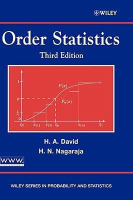 Order Statistics 3e  by  Herbert A. David