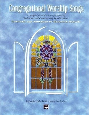 Congregational Worship Songs: Songbook, Comb Bound Book  by  Benjamin Harlan