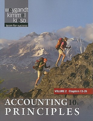 Paperback Vol. 2 of Accounting Principles  by  Jerry J. Weygandt