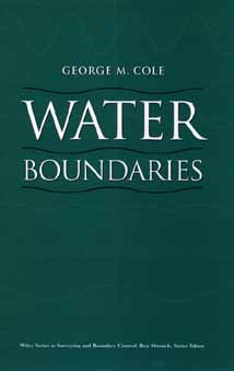 Water Boundaries  by  George M. Cole