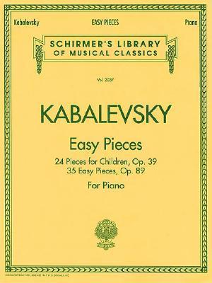 Easy Pieces: 24 Pieces for Children, Op. 39 35 Easy Pieces, Op. 89  by  G. Schirmer, Inc.