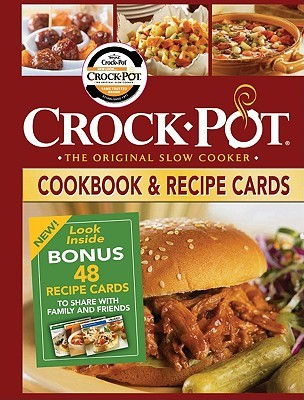 Crock-Pot Cookbook & Recipe Cards  by  Publications International Ltd.
