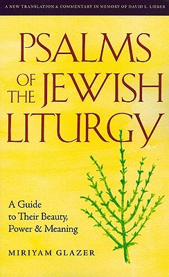Psalms of the Jewish Liturgy: A Guide to Their Beauty, Power, and Meaning  by  Miriyam Glazer
