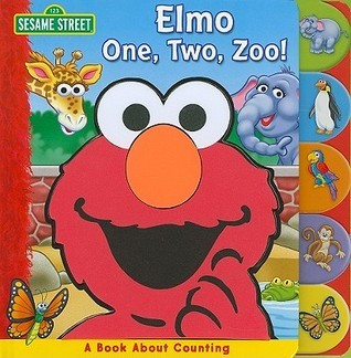 Sesame St Elmo 1 2 Zoo  by  Readers Digest Association