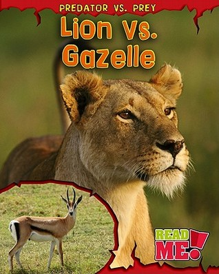 Lion vs. Gazelle  by  Mary Meinking