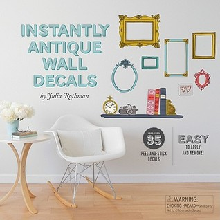 Instantly Antique Wall Decals Julia Rothman