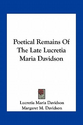 Amir Khan, and Other Poems  by  Lucretia Maria Davidson