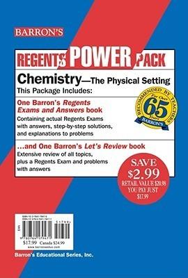 Chemistry Power Pack: The Physical Setting Albert S. Tarendash