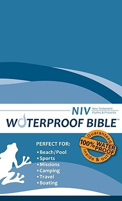 Waterproof New Testament with Psalms and Proverbs-NIV-Blue Wave Bardin & Marsee