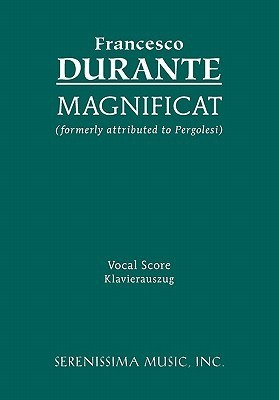Magnificat - Vocal Score Francesco  Durante