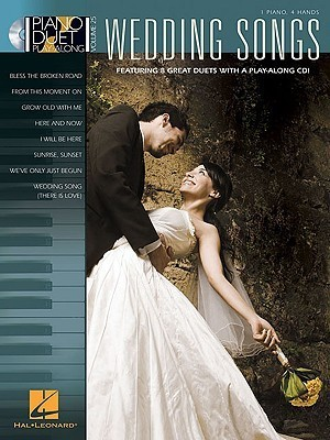 Wedding Songs: 1 Piano, 4 Hands [With CD (Audio)]  by  Hal Leonard Publishing Company