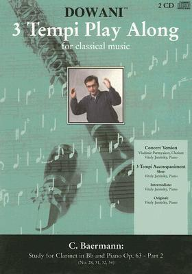 Study for Clarinet in BB and Piano Op. 63 - Part 2 [With 2 CDs]  by  C. Baerman