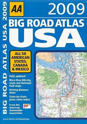 AA Big Road Atlas USA 2009 A.A. Publishing