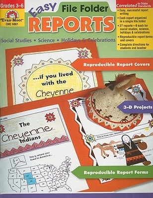Easy File Folder Reports, Grades 3-6  by  Yvonne Despard