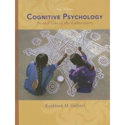 Books on Cognitive Psychology